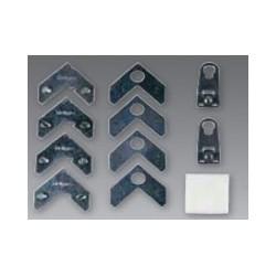 Kit Moldura de Aluminio