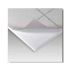 Carton Pluma Adhesivo Reciclado Blanco
